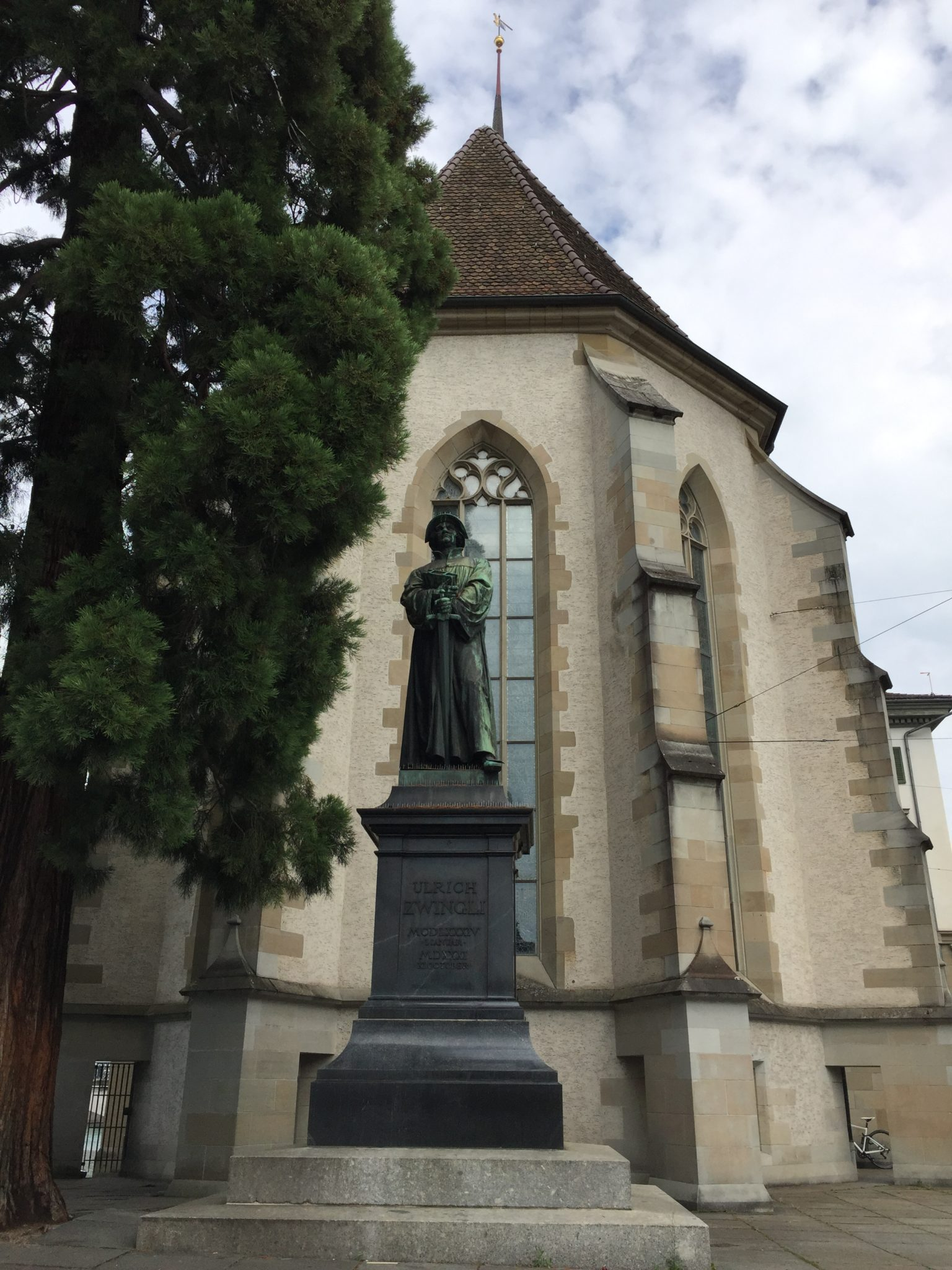 July 10 lungern zurich switzerland biblos foundation statue of swiss reformer ulrich zwingli 1484 1531 for gods sake do not put yourself at odds with the word of god for truly it will persist as surely solutioingenieria Gallery
