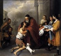 BN Apr 22 The Return of the Prodigal Son by Bartolome Esteban Murillo
