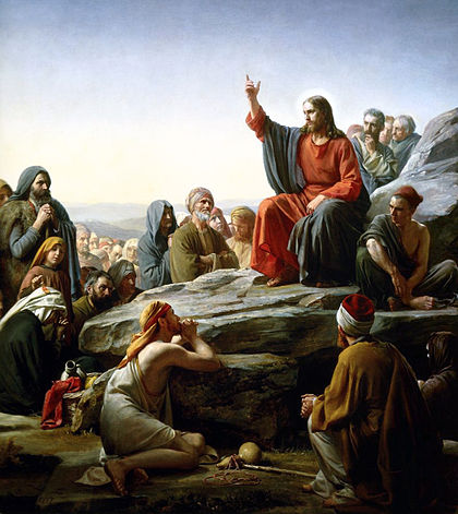 BN Oct 21 Sermon on the Mount by Carl Bloch