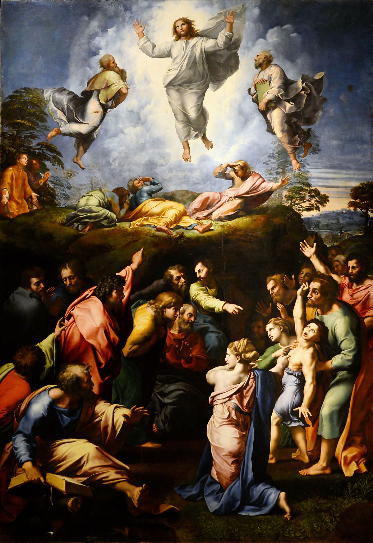 BN Nov 18 Transfiguration by Raphael