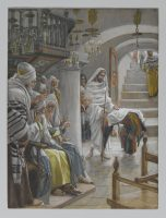 BN May 12 Christ Healing an Infirm Woman by James Tissot