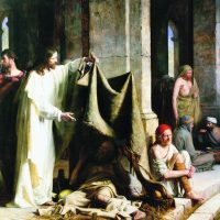 Healing of the man at the Pool of Bethesda – painting by Carl Bloch