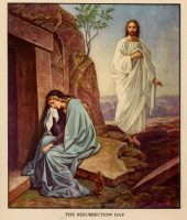 Mary and Jesus at the Tomb