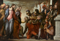 BN July 28 Healing the Centurion's Servant by Paolo Veronese