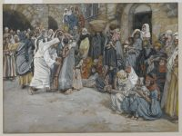BN Aug 18 Jesus heals a deaf mute man by James Tissot