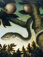 BN Nov 10 Adam and Eve in the Garden of Eden by Lucas Cranach the Elder